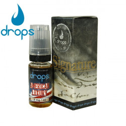 E-LÍQUIDO DROPS sabor AMERICAN LUXURY 12mg/ml 10ml