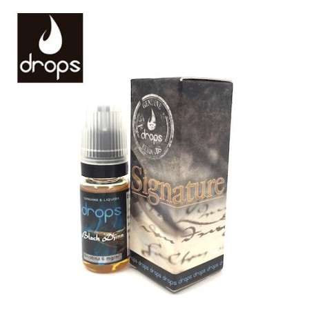 E-LÍQUIDO DROPS sabor BLACK DJINN 6mg/ml 10ml
