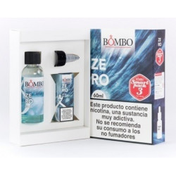 E-LÍQUIDO BOMBO sabor ZERO 3mg/ml Smart Pack 60ml
