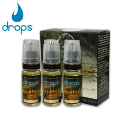 E-líquido DROPS FAUSTO'S DEAL 6mg/ml Tripack 3x10ml