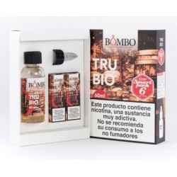 E-líquido BOMBO TRUBIO 6mg/ml Smart Pack 60ml
