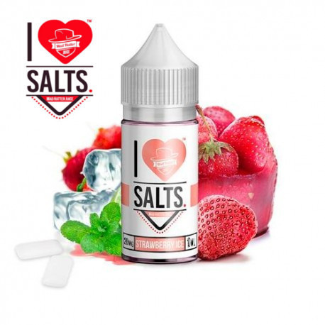 E-líquido Mad Hatter I Love Salts Strawberry Ice 20mg/ml 10ml