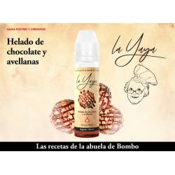 E-líquido LA YAYA (BOMBO) HELADO DE CHOCOLATE Y AVELLANAS TPD 50ml 0mg
