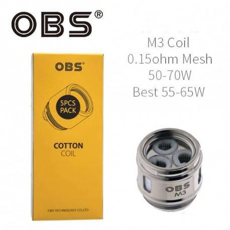 Resistencia OBS M3 Mesh Coil 0.15 Ohm para Cube