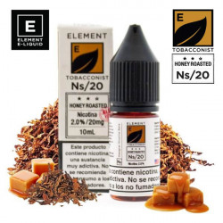 E-líquido Element Salts Tobacconist Honey Roasted 20mg/ml 10ml