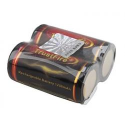 Batería recargable TF 18350 TrustFire 3.7v 1200mAh
