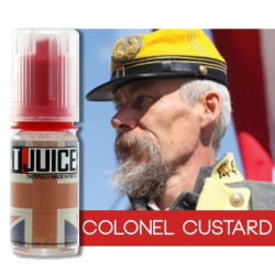 E-LÍQUIDO T-Juice sabor Colonel Custard sin nicotina 10 ml