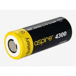 Batería recargable Aspire INR 26650 4300 mAh