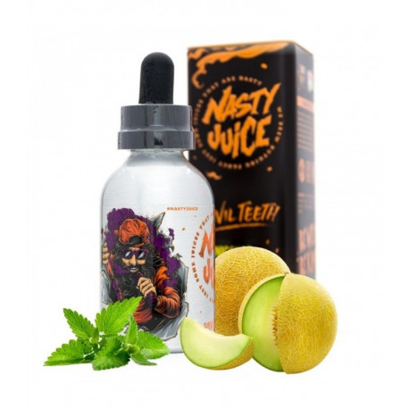 E-LÍQUIDO NASTY JUICE DEVIL TEETH sin nicotina 50ml envase 60ml