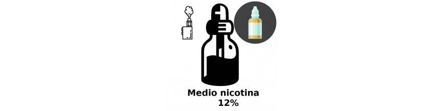 LIQUIDOS MEDIO NICOTINA 12mg