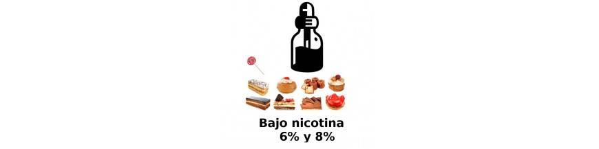 BAJO EN NICOTINA DULCES