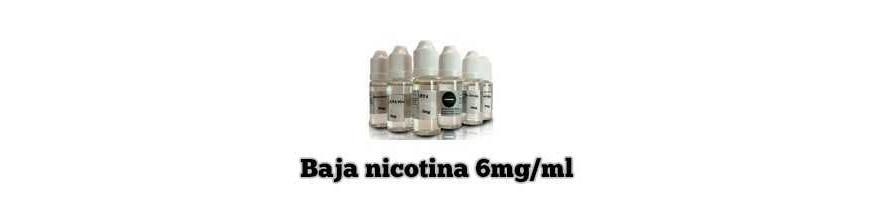 LÍQUIDOS CON BAJA NICOTINA