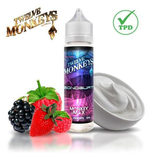 E-líquido Twelve Monkeys Bonogurt TPD 50ml Sin Nicotina