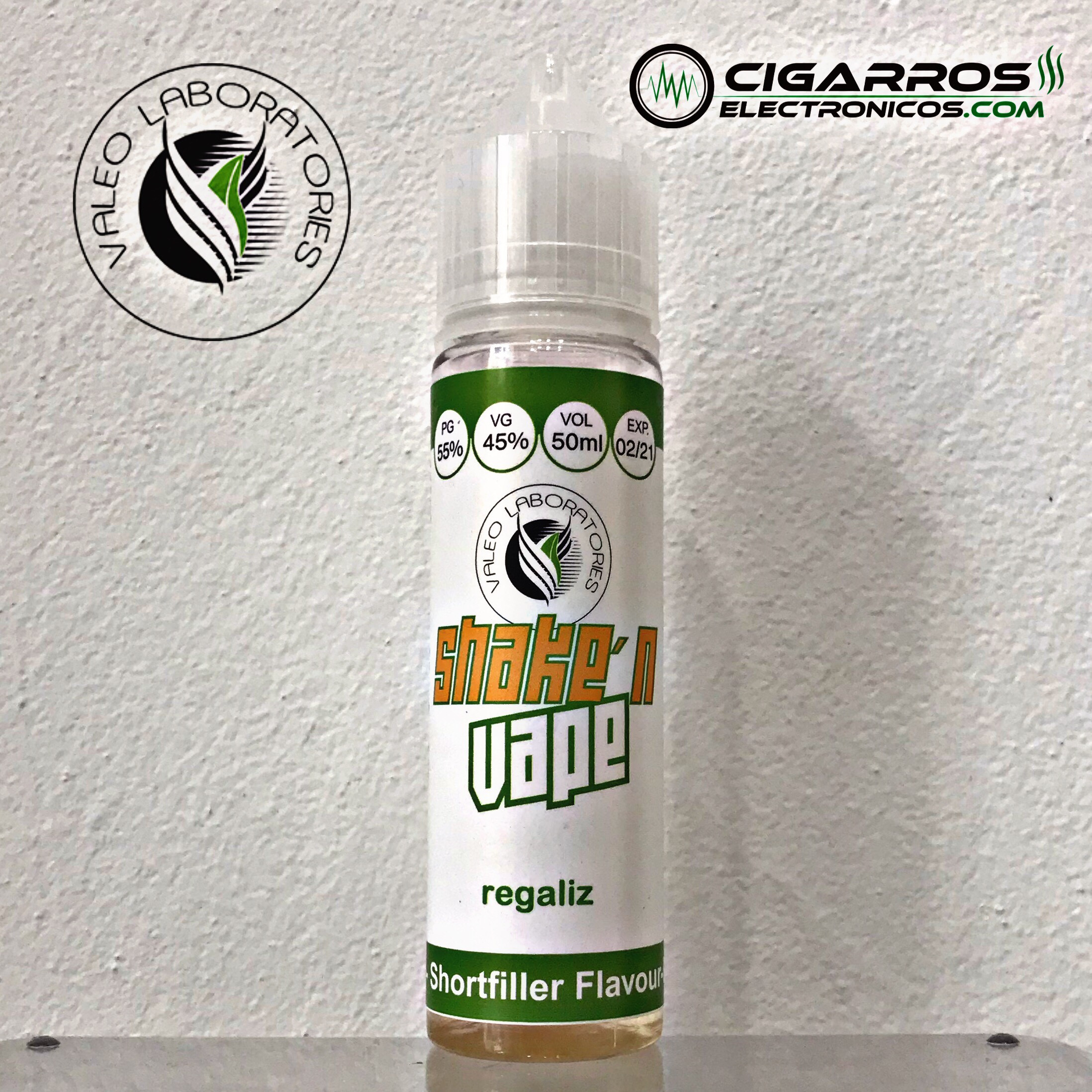 E-líquido Regaliz TPD 50ML 0MG