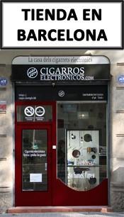 Tienda de cigarros electrónicos en Barcelona
